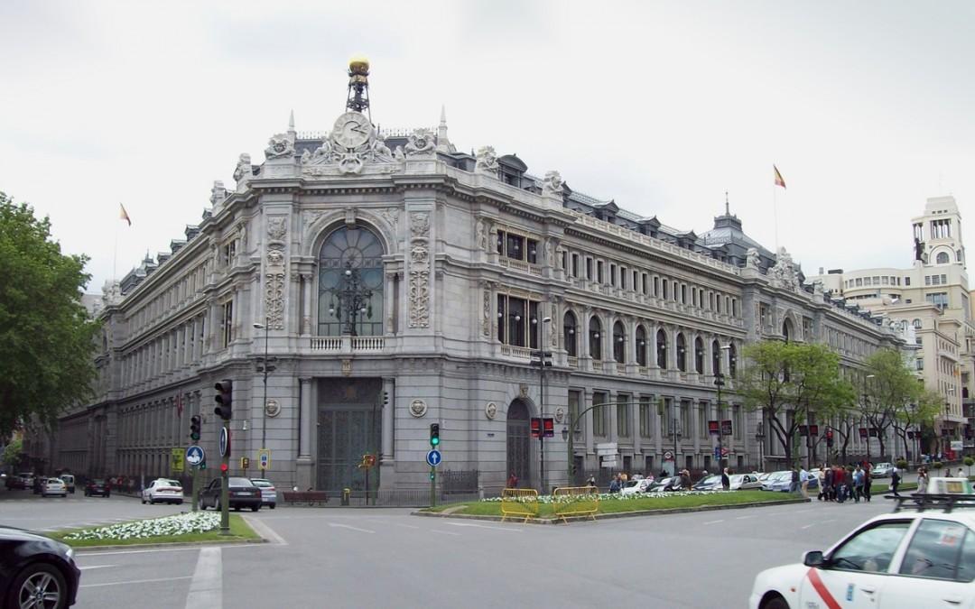Dos heridos graves en un accidente laboral en el Banco de España