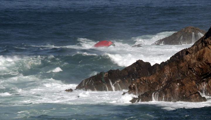 Dos gallegos desaparecidos en el hundimiento de un pesquero