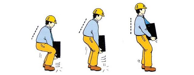 Cómo manipular manualmente cargas para no sufrir lesiones