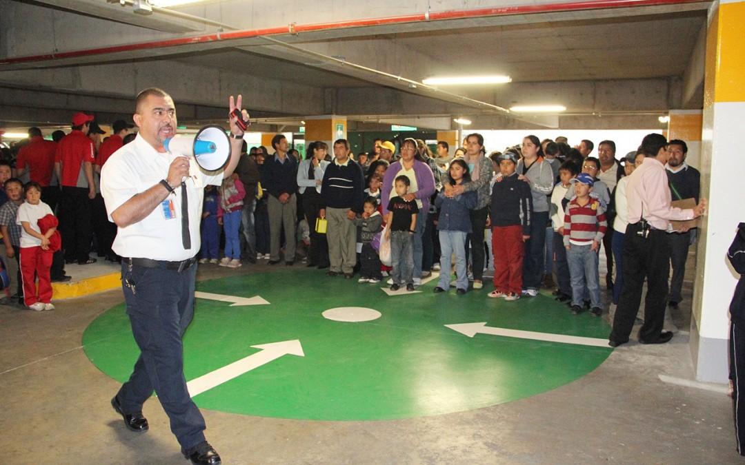 Simulacros de prevención en Sevilla