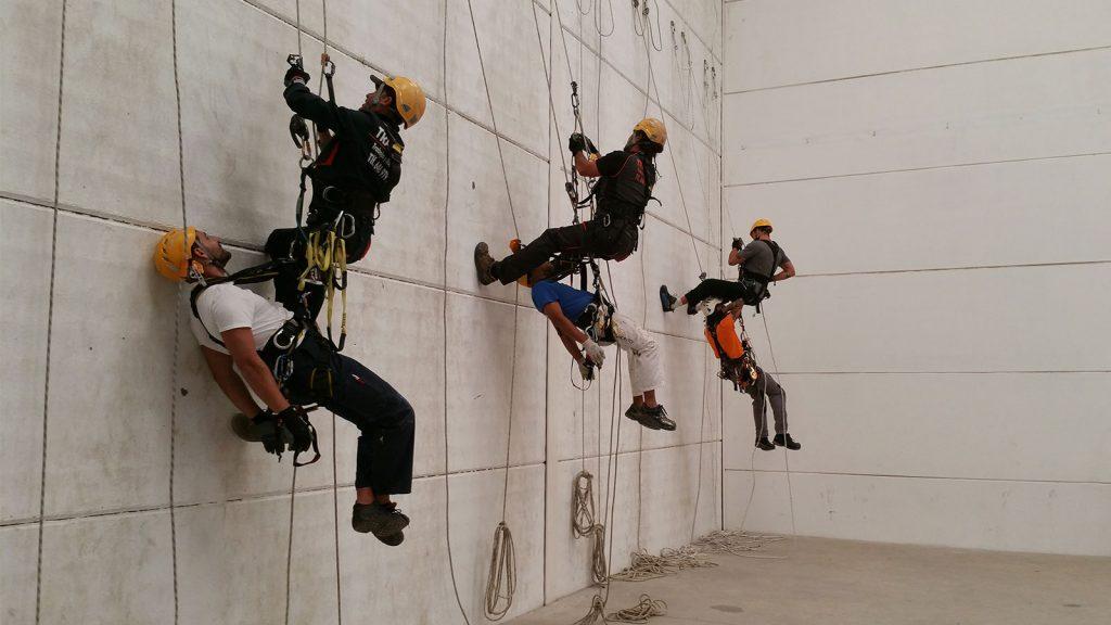 Prevención de riesgos en trabajos verticales