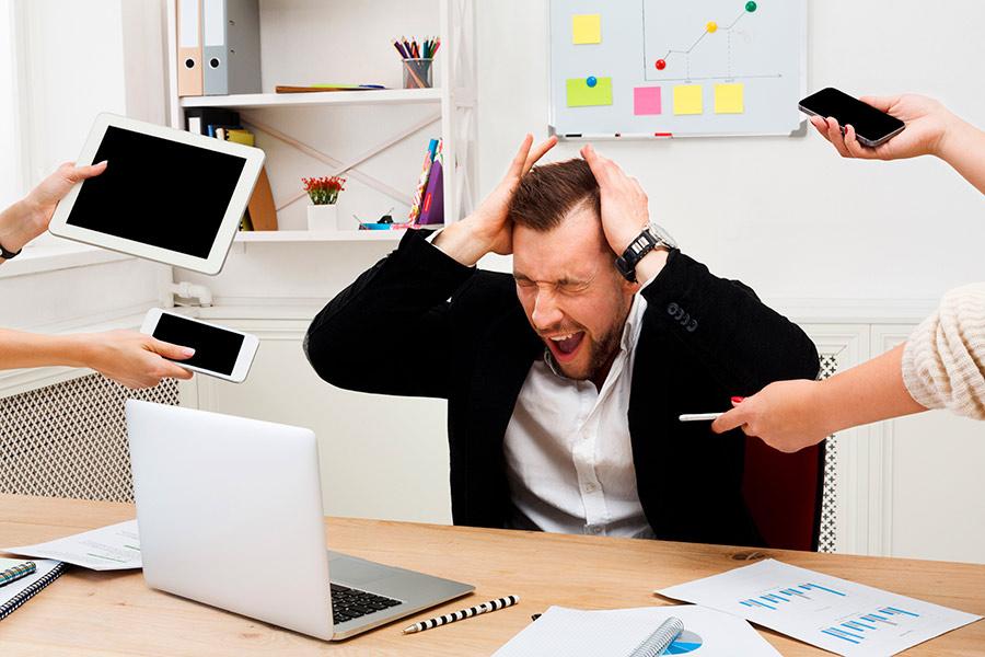 Claves para afrontar el estrés laboral