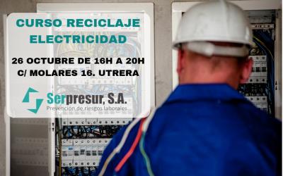 Curso de reciclaje Electricidad en Sevilla