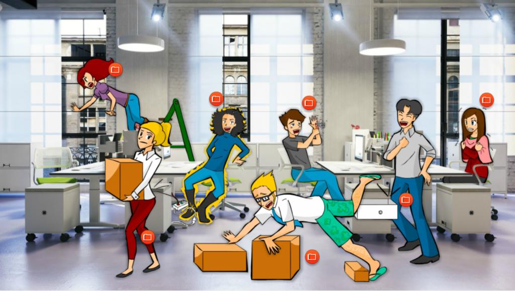 Riesgos Laborales en oficinas