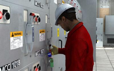 Bloqueo de máquinas y equipos en reparación